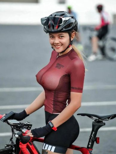 i would ride with her anytime