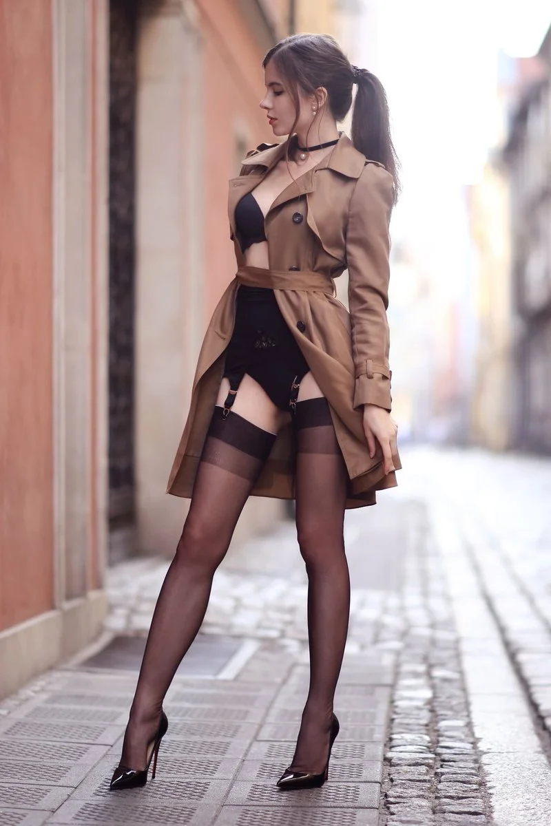 lingerie brunette erotic